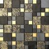 Magic Mistura Castanha Mosaico de vidro de folha de ouro na parede