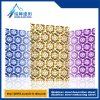 201 304 316 de plaque métallique décoratifs de plaque métallique d'acier inoxydable