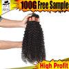 Бразильские курчавые продукты волос Weave