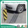 Espuma amarela/preta do protetor de EVA da porta da garagem do carro