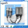 Einfachkanaleinpreßgold überzogener BNC passiver videoBalun (VB102pH)