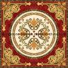 빨간색 거실을%s 황금 양탄자 디자인 수수께끼 도와