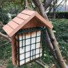 Alimentador de madera respetuoso del medio ambiente competitivo caliente del pájaro de la madera de pino del Fsc