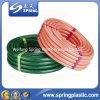 Multi di colori tubo flessibile/tubo Braided dell'acqua del giardino del PVC delle fibre ottiche dell'odore non