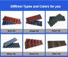 2018 beste verkaufende überzogene Kerala Metalldach-Steinfliese