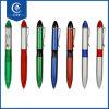 Stylo bille en plastique estampé par logo fait sur commande bon marché promotionnel de crayon lecteur de bille