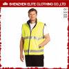 Weerspiegelende Vest van het Jasje van de Veiligheid van het Zicht van de bouw het Hoge Weerspiegelende (elthjc-415)