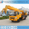 2016 High Technology Workshop de Consumo de Combustível Mobile Hydraulic Used Service Truck Cranes with Electric Motor