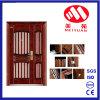 Puerta caliente de la hoja del doble de la puerta exterior del acero de la seguridad del diseño