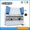 Machine à cintrer de la plaque Wc67y-100X4000 en acier et machine se pliante hydraulique