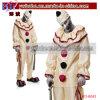 Halloweenの恐怖道化師の謝肉祭のサーカスのデザインの凝った服の曲がりくねっている衣裳(BO-6042)