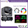 Mini LED 100W Moving Head Spot Stage Light para Music Show