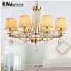 Lampadari a bracci a cristallo moderni di più nuovo disegno con le lampade di illuminazione del salone