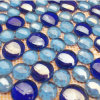 Branelli di cristallo incollati sulla maglia