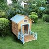 Hinterhof-erhitztes im Freienkatze-Haus-große Hundehundehütte