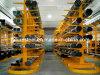 Armazenamento da indústria do operador de paletes de mercadorias de forma longa