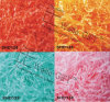 Bon marché du papier de couleur douces Shred pour remplissage boîte cadeau