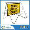 Advertência temporária de gerenciamento de trânsito Street Safety Roads Signs Frame