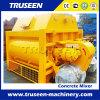 Tipo máquina portátil da correia da construção do misturador concreto de Js1000