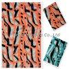 Sequin-Stickerei mit Fischen Pattern-Flk248