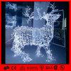 Indicatore luminoso bianco della decorazione della renna di natale del centro commerciale di disegno moderno LED