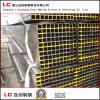 pipa de acero cuadrada 40mmx40mmx1.35 para la estructura Corea exportada edificio