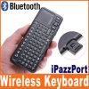 Mini clavier bluetooth sans fil d'Ipazzport pour le distant de PC (KP-810-10BTT)