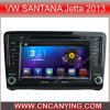 Auto DVD Player voor Pure Android 4.4 Car DVD Player met A9 GPS Bluetooth van cpu Capacitive Touch Screen voor VW Santana Jetta 2013 (advertentie-7696)