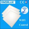 38W 620*620 100lm/W WiFi 통제를 가진 정연한 LED 위원회 빛