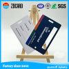 Drucken-Plastikgepäck-Karte mit weißen Unterzeichnung-und Metallaugen