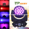 19PCS 12W RGBW 4in1 LED Zoom Faisceau Wash LED Disco Light