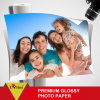 製品4r 180GSMのインクジェット写真高い光沢のある写真のペーパーの販売