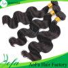 Cabelo agradável do Virgin da qualidade do cabelo humano da venda por atacado 100% do preço de fábrica