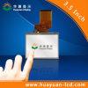 Módulo do indicador do LCD dos misturadores do gás com toque Resistive
