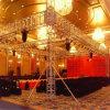 옥외 LED 쇼 정사각형 상자 스피커 알루미늄은 전시 단계 점화 Truss 천막을 조립한다