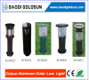 1W Durable Colour Aluminun Solar Lawn Light
