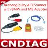 Autoenginuity Aci Scanner met BMW en MB Adapter