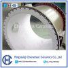 Chemshun baldosas de cerámica de alúmina para el revestimiento de proveedor de tubos de acero