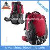 El recorrido que acampa de la montaña se divierte el alza que va de excursión el morral del bolso