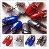Ботинки повелительницы неподдельной кожи теплые (FB-80530)