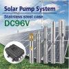 DC 96V Potência de entrada da bomba de água solar 1100W Cabeça 70m Fluxo 5t / H