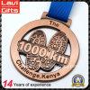Металл фабрики изготовленный на заказ резвится медаль спорта 1000km идущее