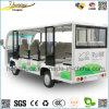Elektrische Bus 14 van het Sightseeing de Personenauto van Zetels