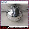 Fabricación de metal de pulido de carbono 6 pulgadas de bola de acero con el agujero