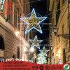 Estrella LED String Motif Lights con luz de la cuerda para decorar cruzando la calle