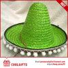Оптовый шлем сторновки Мексики большой с шариками Pompoms Brim