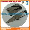 Tarjeta de crédito la cuchilla con material de acero inoxidable