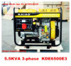 5kw Air Cooled Portable Generator für Home Use Cooper 100%