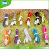Vente en gros 1m / 2m / 3m Colorful Cellphone Mini USB Data Cable pour Android Phone