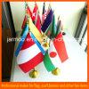 Zujubelndes Wholesale Table Flag für All Kinds Land